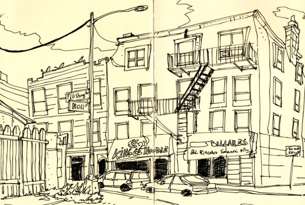 Bushwick - SketchBook - Romain Laforet