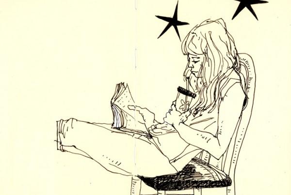 Girl - SketchBook - Romain Laforet