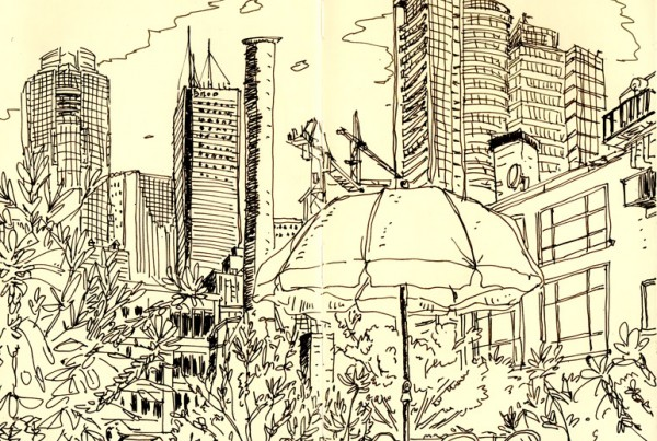 Roof Top - SketchBook - Romain Laforet