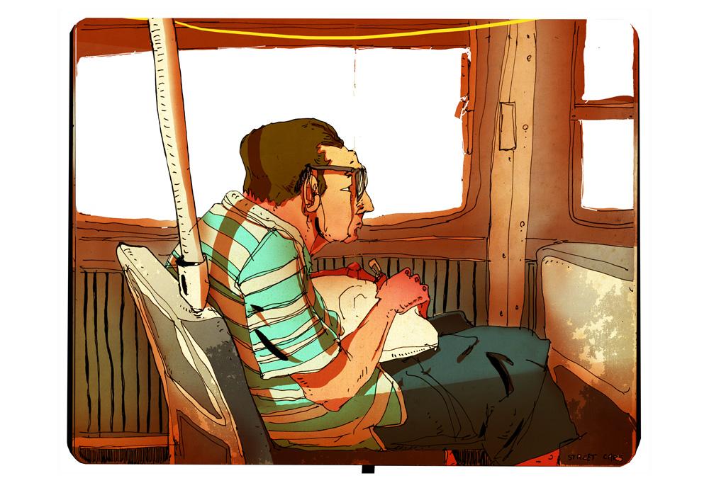 Streetcars - SketchBook - Romain Laforet
