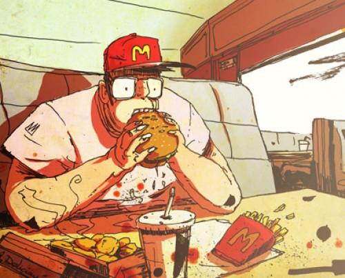 fast food recherche romain laforet