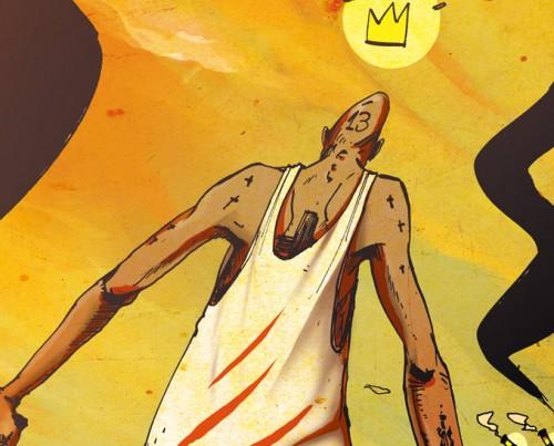 illustration dessin de romain laforet, le pacificateur ( peacemaker )