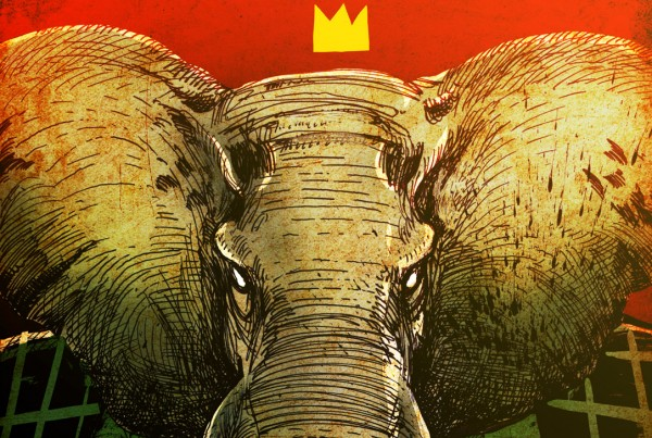 King Babar - illustration Romain Laforet