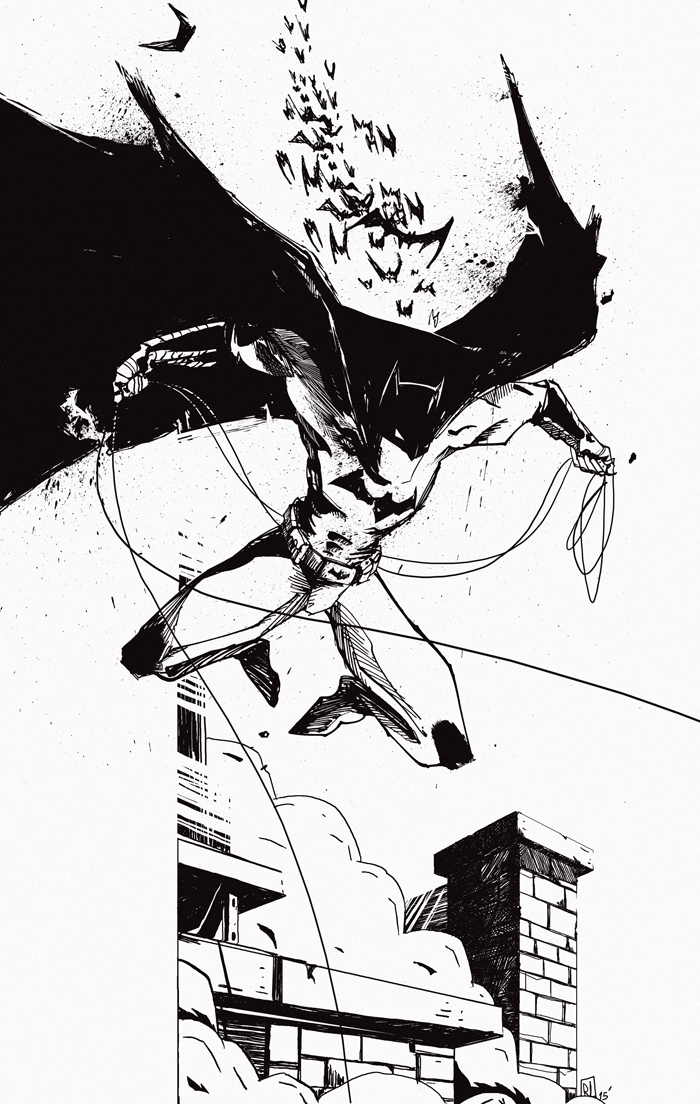 batman ink romain laforet