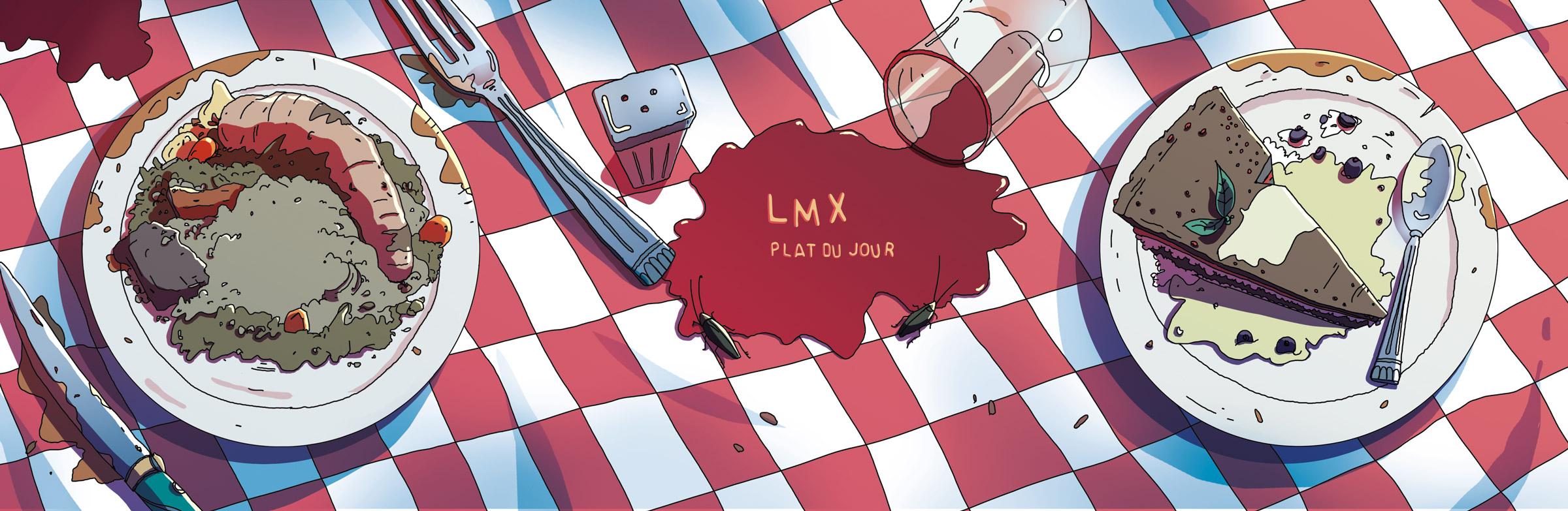 lmx - plat du jour - cd inside - romain laforet