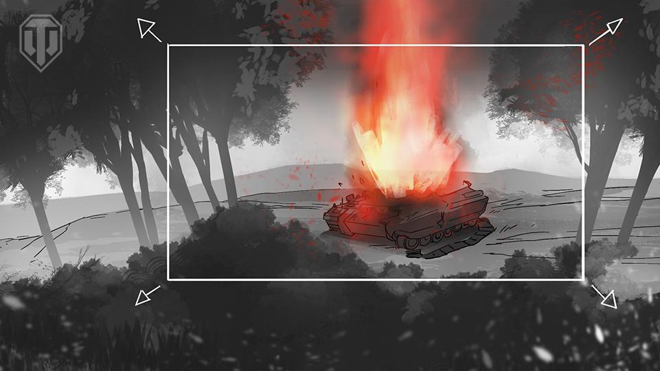 story board blindshot - Romain Laforet