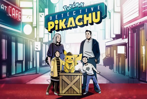 concept detective pikachu evenement