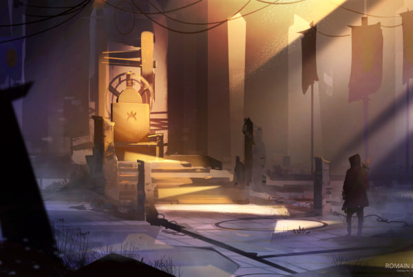 The last king romain laforet concept art