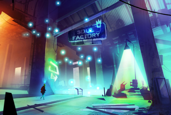 Soul factory romain laforet concept art environment concept